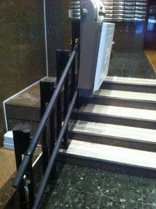 Plataforma elevadora recta Madrid